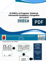 El SNIEG y el Programa Estatal de Información Estadística y Geográfica