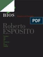Bios - Biopolitics and Philosophy
