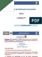 Programa Estímulos a la Innovación 2010