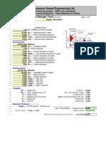 Nozzle Repad Design Spreadsheets