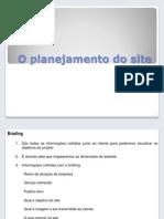 Planejamento de Um Site