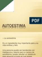 Presentacion de AUTOESTIMA