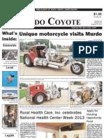 Murdo Coyote, August 15, 2013