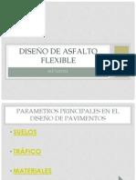 Diseño de asfalto flexible