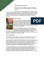 Comidas Típicas Por Departamentos De Guatemala