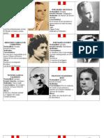 LITERATOS PERUANOS