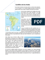 Cordillera de Los Andes - Imprimir