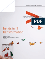 Trends in IT Transformation