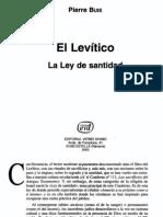 Buis, Pierre - El Levitico
