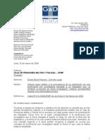 CPMP - Informe Bonificación por encargatura Sr  Arce-  MPSV - 23-03-2009