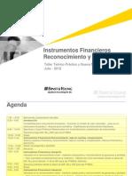 Instrumentos Financieros I - IAS 32, 39, IfRICs[1]