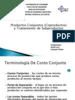 Presentación Costos Coproductos y Subproductos