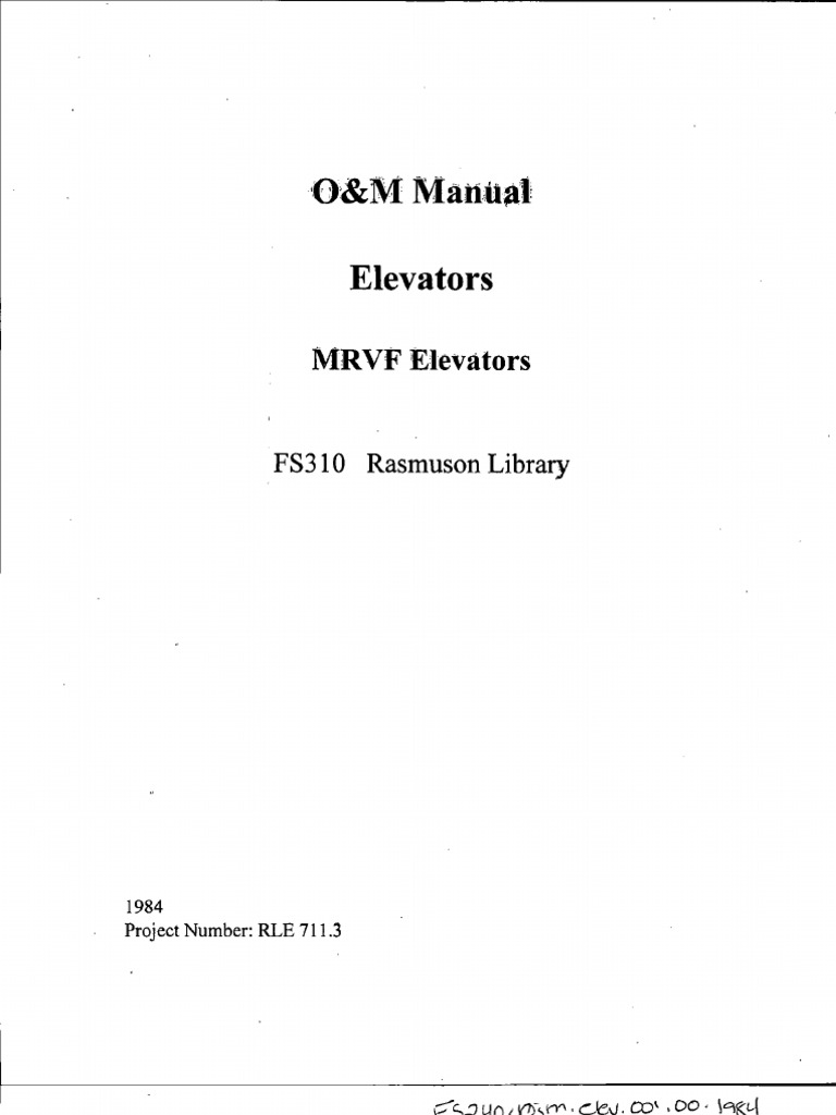 Otis Elevator 211 Wiring Diagram Trusted Diagrams Manual Bearing Mechanical Control Parts