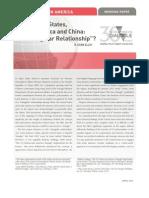 China Triangular Relatioship