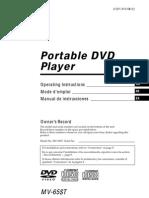 Manual Dvd Portatil