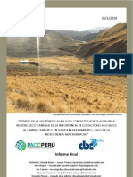 Gestion Agua Conflictos Huacrahuacho