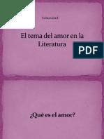 El amor, introducción
