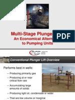 PCS Multi-Stage Plunger Lift