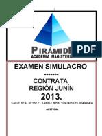 Simulacro+2013+ +i+Publicar