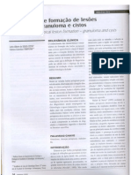 Mecanismos de Desenvolvimento Cisto e Granuloma