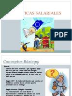 politicas salariales