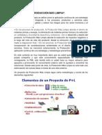 Manual de Produccion + Limpia