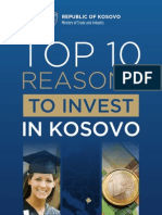 Top10 Reasons to Invest in Kosovo_2010