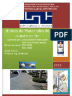 Album de Materiales de Construccion