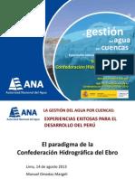 PERU (La Gestión de agua por cuencas)