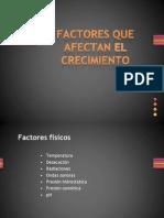 IV. Crecimiento Microbiano 2-Factores Ambientales