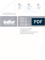 Manual Quemador BTG-28