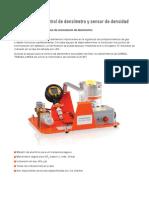Equipo Para El Control de Densimetro y Sensor de Densidad SK-509-R010 ES
