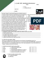 1º Bach - Diagnostic Test (1)
