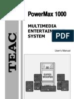 PowerMax1000 e
