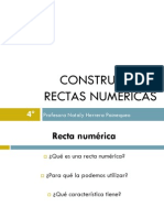 4° básico matemática ppt Construyendo rectas numéricas 06.06