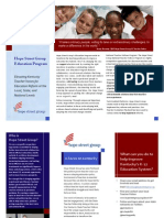 Hope Street Group Education Brochure