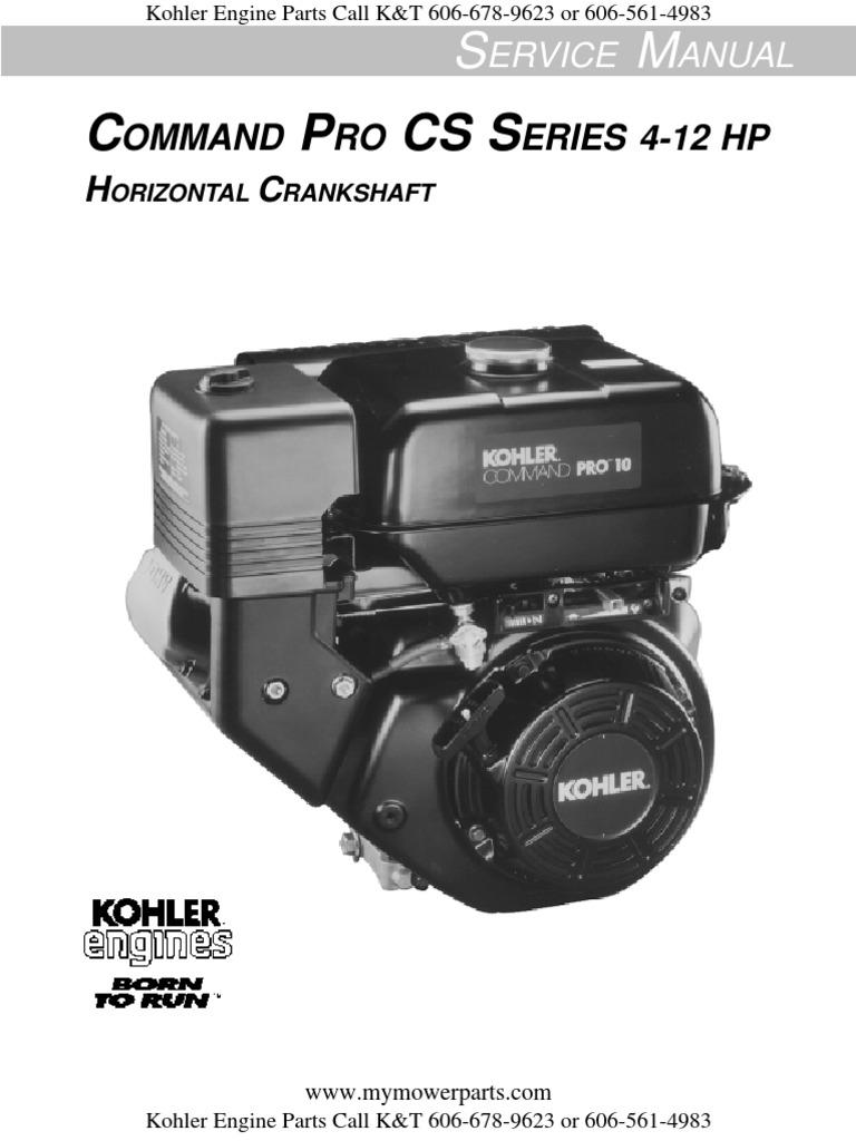 Kohler-Service-Repair-Manual-Command-CS4-CS6-CS8 5-CS10-CS12 pdf