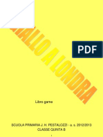 LIBRO GAME Giallo a Londra