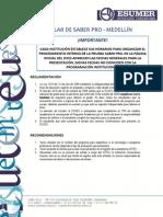 Circular de SABER PRO 2013-02 - Medellín (1)