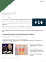 Como Fazer Print Screen No Mac