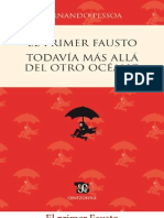 Pessoa, Fernando - [ES] El primer fausto - Todavía más allá de otro océano (FCE)