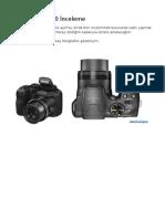 FUJİFİLM S2950 İnceleme