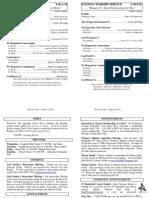Cedar Bulletin Page - 08-18-13