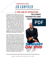 Activating the Law of Attraction Notes