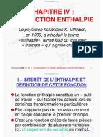 Enthalpie-Chapitre4