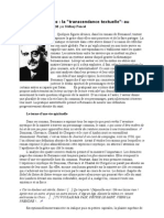 la sainteté Georges Bernanos la sainteté