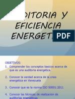 Auditoria y Eficiencia Energetica