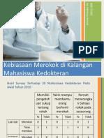 Presentasi Rokok - 100111090