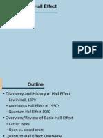 Hall Effect Presentation