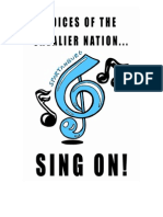 gable middle school choral program handbook